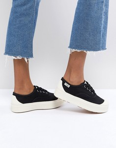 Черные кроссовки на платформе Palladium SUB - Черный