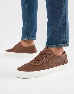 Кроссовки на шнуровке Jack & Jones - Коричневый