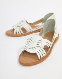 Кожаные сандалии ASOS DESIGN - Белый