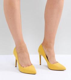 Туфли для широкой стопы на высоком каблуке с острым носом ASOS DESIGN Paris - Желтый