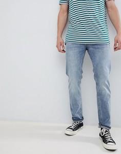Синие джинсы классического кроя Jack & Jones - Синий