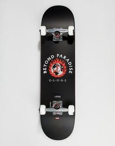 Черный скейтборд Globe Ablaze - 7,75 дюйма - Черный
