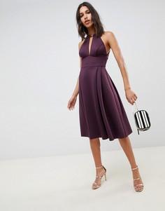 Платье миди для выпускного ASOS DESIGN - Фиолетовый