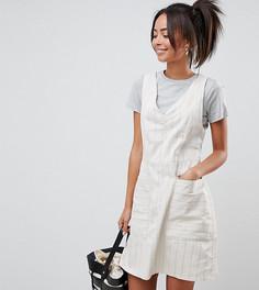Платье-трапеция в полоску ASOS DESIGN Tall - Мульти