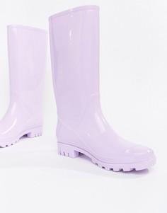 Резиновые сапоги ASOS DESIGN Gransta - Фиолетовый