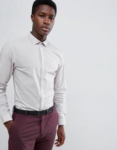 Узкая рубашка в горошек с длинными рукавами Jack & Jones - Красный