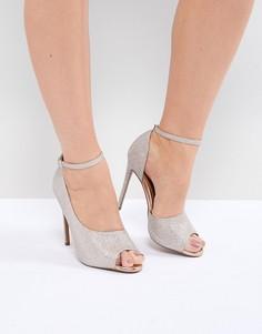 Туфли на каблуке ASOS DESIGN Pippin - Золотой