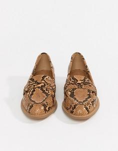 Туфли на плоской подошве ASOS DESIGN Munch - Мульти