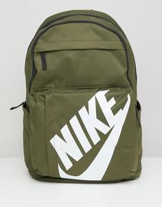 Рюкзак цвета хаки с логотипом Nike BA5381-395 - Зеленый
