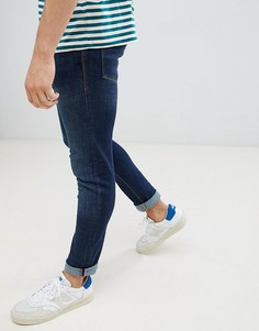 Узкие синие джинсы Jack & Jones - Синий