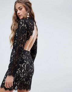 Кружевное платье Love & Other Things - Черный