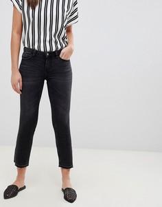 Укороченные расклешенные джинсы JDY Jake - Серый