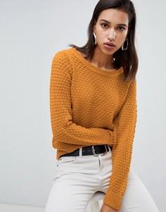 Джемпер крупной вязки Vero Moda - Желтый