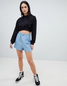 Мягкие джинсовые шорты ASOS DESIGN - Синий