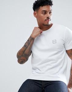 Белая футболка с логотипом BOSS Tales - Белый