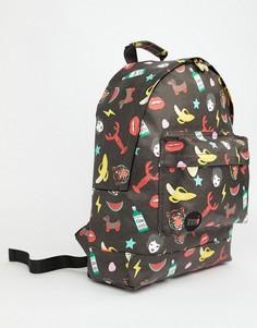 Рюкзак с принтом Mi-Pac x Tatty Devine - Черный