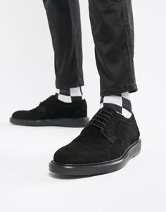 Замшевые броги Dead Vintage - Черный