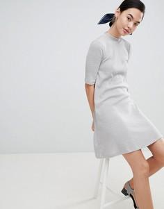 Свободное платье Only Veronica - Серый