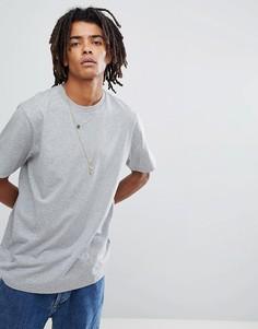 Серая футболка классического кроя Carhartt WIP Base - Серый