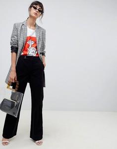Черные вельветовые джинсы в стиле ретро ASOS DESIGN - Черный