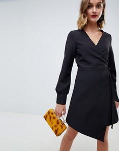Платье асимметричного кроя Unique 21 - Черный Unique21