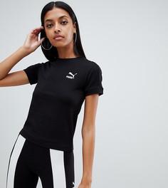 Черная футболка Puma Classics - Черный