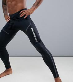 Компрессионные леггинсы First Menswear - Черный