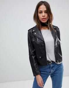 Свободная кожаная мотоциклетная куртка Levis - Черный Levis®
