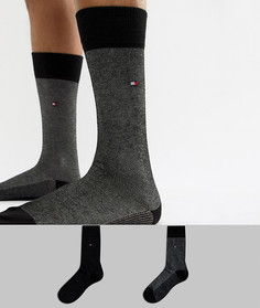 Набор из 2 пар носков Tommy Hilfiger - Черный
