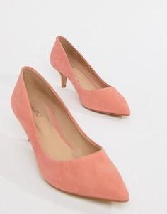 Туфли на каблуке-рюмочке с заостренным носком Aldo - Розовый
