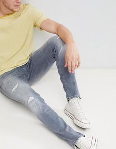 Черные джинсы узкого кроя Jack & Jones Core Intelligence - Черный