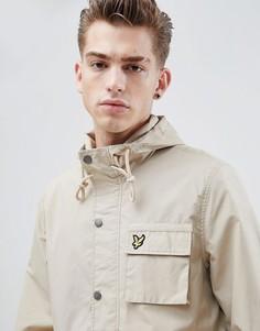 Куртка с капюшоном Lyle & Scott - Светло-бежевый