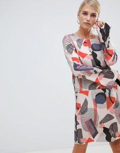Платье с геометрическим принтом Vila - Мульти