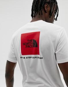 Белая футболка с логотипом The North Face - Белый