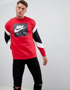 Красный свитшот Nike Air 928635-687 - Красный