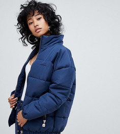 Дутая куртка с вышитым логотипом на груди Ellesse - Темно-синий