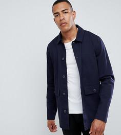 Темно-синяя куртка ASOS DESIGN Tall - Темно-синий