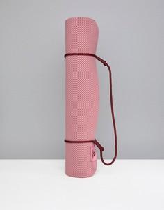 Сиреневый коврик для занятий йогой adidas - Фиолетовый