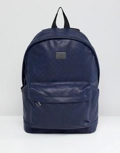 Фактурный рюкзак Peter Werth - Синий