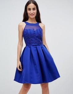 Платье для выпускного Little Mistress - Синий