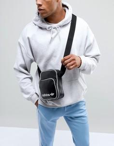 Черная большая сумка для авиапутешествий adidas Originals DH1006 - Черный