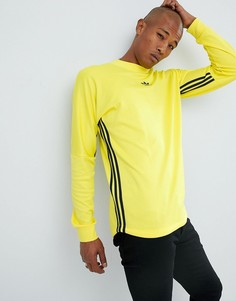 Желтый лонгслив adidas Originals Authentic DJ2869 - Желтый