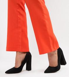 Туфли на высоком каблуке с острым носом ASOS DESIGN - Черный