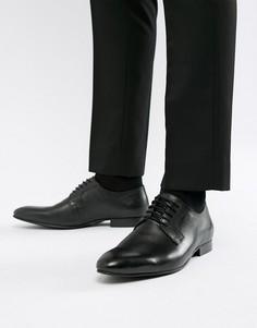 Черные кожаные туфли Dune Saffiano - Черный