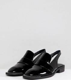 Туфли с открытой пяткой Free People - Черный