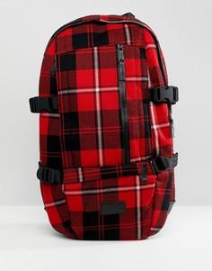 Клетчатый рюкзак Eastpak Floid Winter - Красный