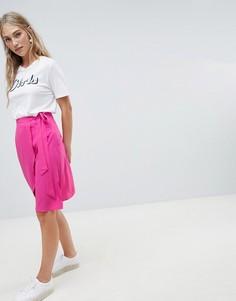 Юбка с запахом Vero Moda - Розовый