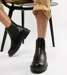 Черные ботинки челси для широкой стопы RAID Radar - Черный