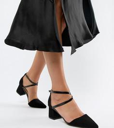 Туфли на среднем каблуке с острым носом Truffle Collection - Черный