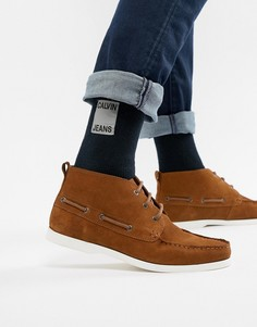 Носки в рубчик Calvin Klein Jeans - Темно-синий